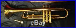 Very Rare! Nickel Silver 1926 Frank Holton Trumpet. Beautiful player