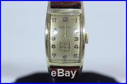 Very Rare Vintage 1950 Man's Mathey Tissot Mechanical Hand Widing Watch