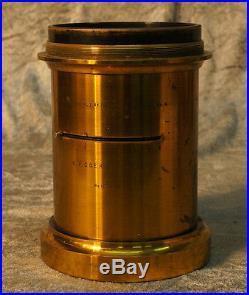 Very Rare Vintage Brass Lens EXTRA RAPID LYNKEIOSKOP SERIE C. 9 C. P. COERZ BERLIN
