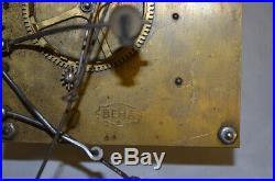 Very rare Beha cuckoo clock brass movement with original bird, free shipping