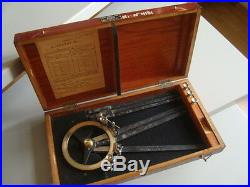 Very rare Soviet navy protractor sextant1954\USSR N. 143