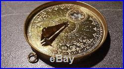 Very rare Sundial or Astrolabe from Middle East 18th century (Qibla finder)