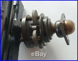Very rare antique 12.5 J Casartelli & Son Manchester sextant nautical WW1 Navy
