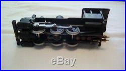 Very rare live steam o scale engine and tender