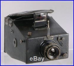Very rare plate camera Hansen Le Véga + Verres de Iena Anastigmat brass lens