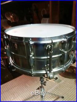 Vintage 1930s Premier Dominion Minor Brass 8 Lug Snare Drum VERY RARE