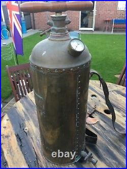 Vintage Brass garden sprayer Four Oaks spraying company VERY RARE