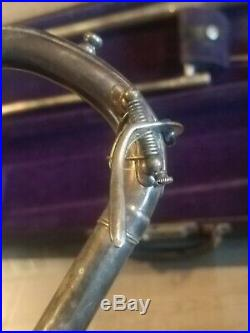 Vintage Rare F. E. Olds Trombone, Serial Number 1970 VERY nice