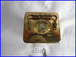 Vintage Very Rare L'epee Sub-miniature Carriage Clock In Gd Working Order +keys