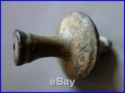 Vtg Antique Old Very Rare Ottoman Turkish Brass Plumb Bob Level Masonry Tool