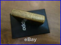Vtg Very Rare 2004 Limited Edition Brass Zippo Lucky Strike 0503/1916 Lighter